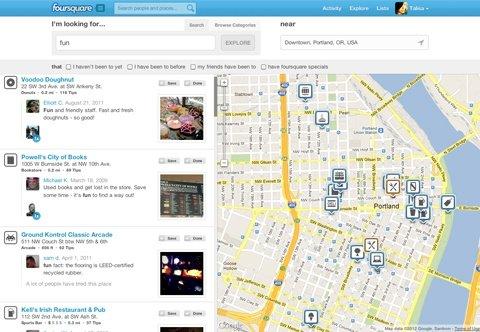 Foursquare Explorer