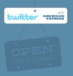 Twitter e American Express