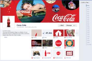 Coca-Cola fan page