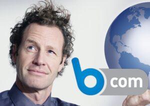 B com