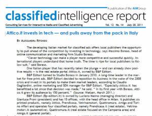 Classified Intelligence Report intervista Massimo Boraso