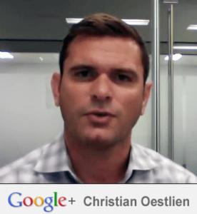 Christian Oestlien di Google+