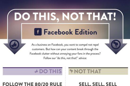 Le cose da fare e da non fare per una comunicazione efficace su Facebook