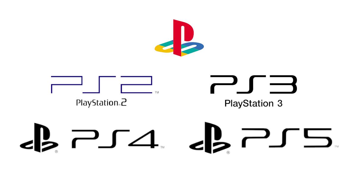 Evoluzione dei loghi Playstation