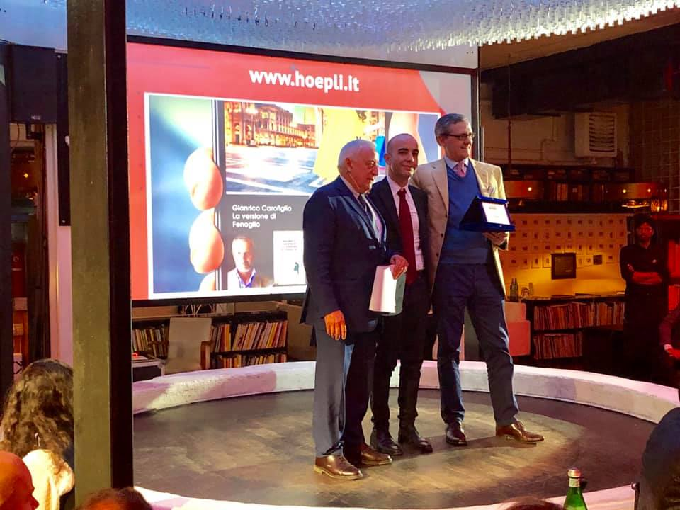 matteo-hoepli-netcomm-2019-premiazione